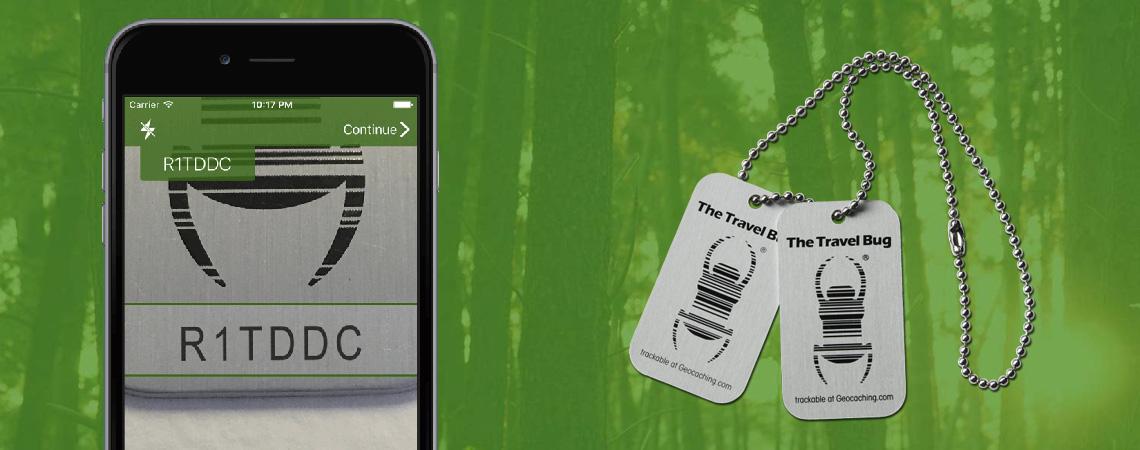 Loguj sledovatelné předměty mobilem s aplikací TBScan