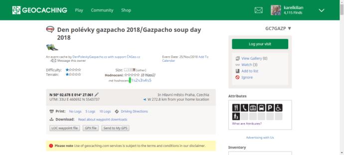 Den polévky gazpacho 2018 má oficiálně status mega eventu