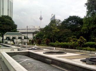 mosquee nationale jardin kuala lumpur