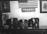 Grandpa Keck (left) with the judge.