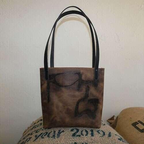 Branded shark purse