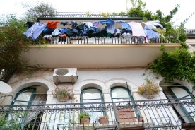Taormina, le sèche-linge