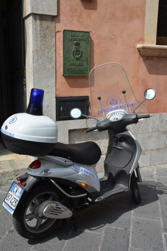 police municipale de Taormina
