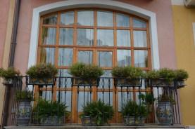 Taormina, celui aux jardinières en céramique sicilienne