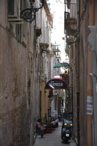 ruelle d'Ortigia