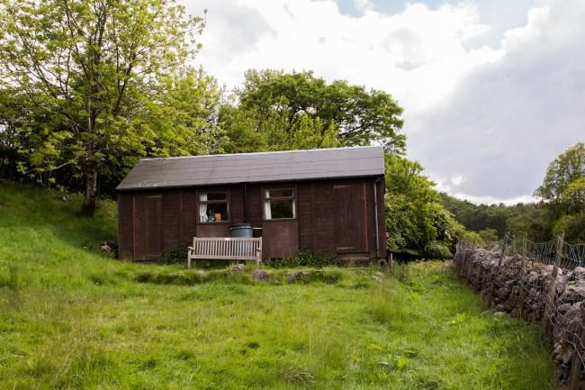 Ashness Hut Exterior
