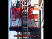 1.5 Ton Double Cages Construction Elevator