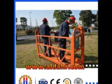 China original Steel Material hoist suspended platform by Air