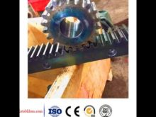 Construction Hoist Small Gears And Shafts