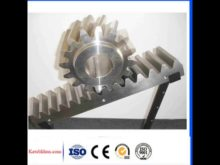 Construction Hoist Spare Parts Blackening Cnc Gear Rack And Pinion Gears