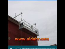 Exceptional Quality 8 1mm steel wire rope Hanging suspended platform by rail