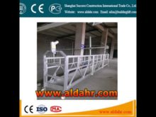 Exterior Wall Decoration Wire Rope Suspended Platform