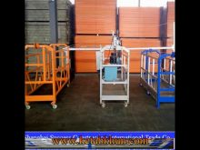 Facade Cleaning Aluminum Rope Suspended Platform