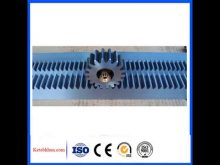 Gear Rack And Pinion For Construction Hoist,Module 1 10 Steel Gear Rack With Mounting Holes