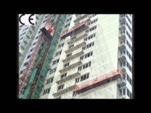 Gondola Construction,Electric Scaffold Suspended Platform ZLP 800,Temporary Suspended Platform