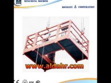 Gondola safety/ZLP series Suspended Platform
