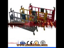 Gost Approved Mast Climbing Work Platform
