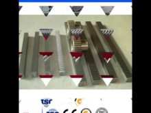 Helical Gear Rack Pinion M1 10,Rack And Pinions