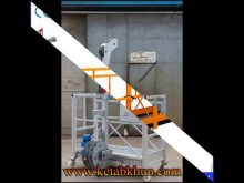 High Quality Aluminum Lift Suspended Work Platform
