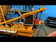 How-To: Reeve liebherr Lr1600 gantry/A-frame