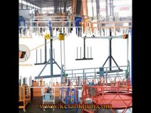 Low Cost Window Cleaning Steel Suspended Platform