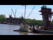 ORBP: East end bridge progress