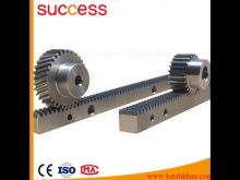 Power Transmission Cnc Steel Round Gear Rack Aluminum Gear Rack Spur Rack Gears