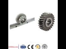 Rack And Pinion For Cnc Router / Cnc High Precision Gear Pinion
