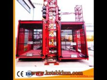 Rack And Pinion Jib Topless Tower Crane