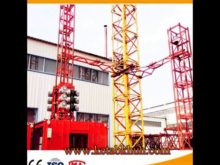 Sc200 2 Ton Double Cages Construction Elevator