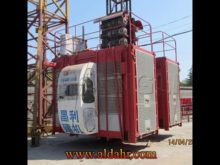 Single Cage CE Approved Building Construction Hoist SC270TD