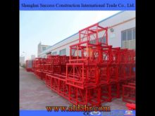 Single Cage Electric Powered High Rise Construction Hoist/ Elevator