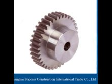 Small Friction Coefficient And Best Selling Rack And Pinion Gear