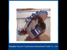 Small Rack And Pinion Gears / Rack And Pinion Steering For Construction Hoist Spare Parts