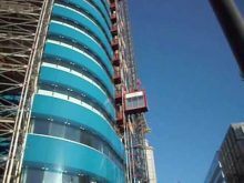 St Botolphs Tower London Construction Hoists by UBSL