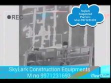 Suspended Platform – Skylark Construction Equipments