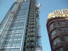 UBS Construction Hoists, Heron Tower London