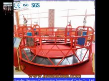 Zlp Rope Construction Suspended Working Platform