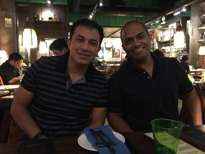 Prashant and Ketan Deshpande MN Restaurant India