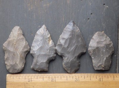 Indiana Hornstone Arrowheads