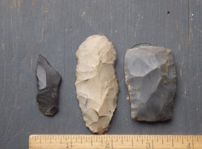 3 Native American Stone Tools