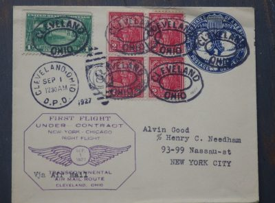 First Flight Cover – 1927