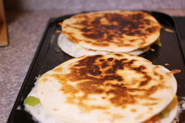 Quesadillas on the Grill