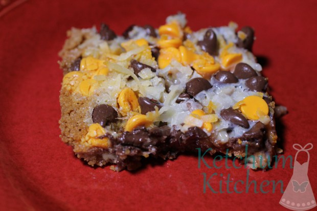 Ooey Gooey Magic Cookie Bars
