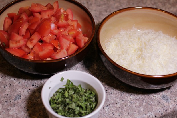 Tomatoes Basil Parm