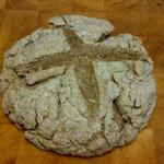 a loaf of irish soda bread