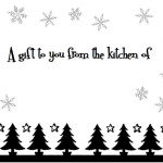Free Printable Gift Tags for Your Christmas Baking