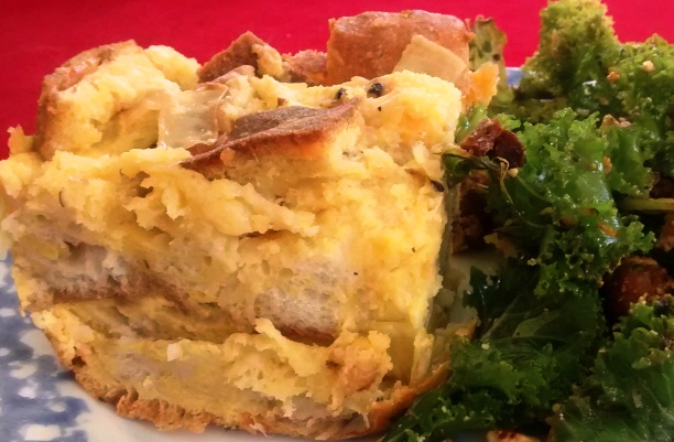 Make-Ahead Meatless Strata
