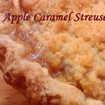 Apple Caramel Streusel Pie