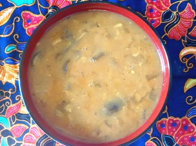 Meatless Monday: Red Lentil Miso Soup